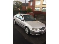 Rover 45 1.4 petrol 5 door in silver