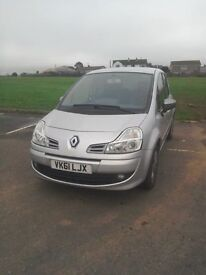 Renault Grand Modus 61 plate (2011), very low mileage