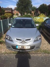 FOR SALE - MAZDA 3 TAKARA - HIGH SPEC -GOOD CONDITION - £1250 ONO