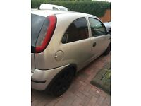 Vauxhall corsa C SXI Alloy wheels + good tyres