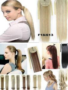 Extension de cheveux a clip,Rallonge, Hair extensions,Pony tail West Island Greater Montréal image 3