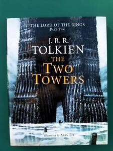 The Lord Of The Rings - The Two Towers - JRR Tolkien [Hardback] Loganholme Logan Area Preview