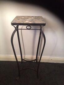 Plant or lamp stand/small table