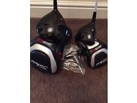 Titleist driver and 3 wood