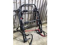 Rear mounted cycle car carrier