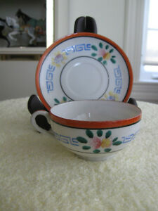 OLD VINTAGE and very DELICATE ORIENTAL CUP & SAUCER