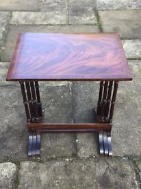 Quality antique nest of tables