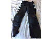 Motirbike leather trousers