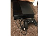 Sony Playstation 4 Console with 4 Games