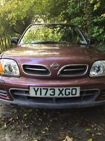 Nissan Micra Nearly new