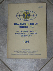 .A Collector's Item [1993].A Col.Co.NUMERICAL TEL. DIRECTORY...