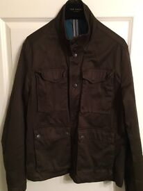 Ted Baker Men's Large (Size 4) Layering Jacket - Brown.