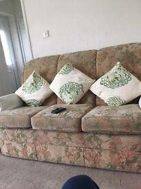 G plan sofa settee and chair