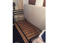 Single bed with mattress very good condiction