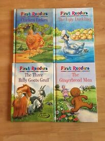 M&S First Readers books for kids x4