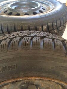BRAND NEW!! Winter tires 195 65r 15 Belleville Belleville Area image 2