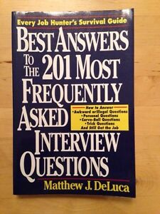 Best Answers to the 201 Most Frequently Asked Interview