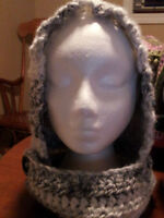 Hand made, One of a kind, Hooded Cowl
