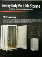 Skid Storage Container