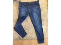 Ladies topshop Maternity jeans size 14