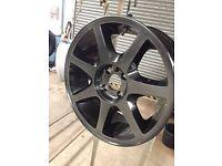 "Ford RS 17"" 7spoke rare alloy wheels"