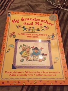 Activity book for grand mom and grandchild  West Island Greater Montréal image 1