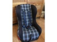 Mothercare car seat for age 9 months to 5years
