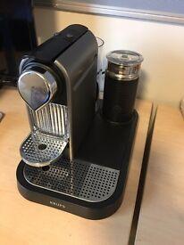 KRUPS CITIZ&MILK TITANIUM COFFEE MACHINE