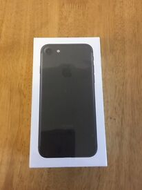 iPhone 7 128GB brand new, sealed. EE Black