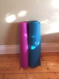 2 yoga mats
