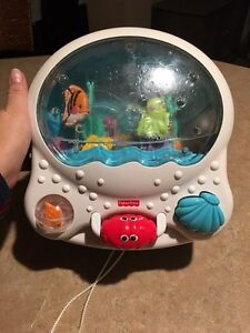 Fisher price lights and sounds crib activity music player Cambridge Kitchener Area image 1