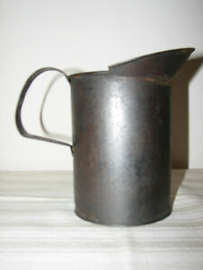 Antique Vintage A. Aubry et Fils Limitee Tin Measure Ware, 1 Qt Kitchener / Waterloo Kitchener Area image 2