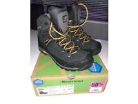 Men's size 10 (UK) Karrimor waterproof walking boots. Worn twice. Very good condition.