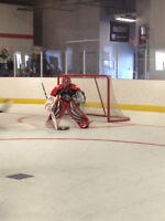Floor-hockey Goalie looking for league games or play as a backup