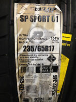 2 NEW 235 65 17 Dunlop 01 Sport tires. Euro-approved Audi +++