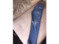 Hollister Slim Fit Distressed Jeans