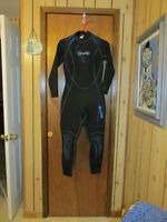 Wet suit and boots
