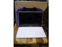 Cheap, fast, lightweight ASUS X205TA Laptop -- long-life battery, free case
