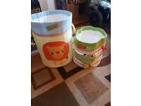 Next Nursery Childrens Storage basket set