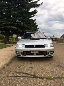 Twin Turbo Subaru Legacy Wagon JDM