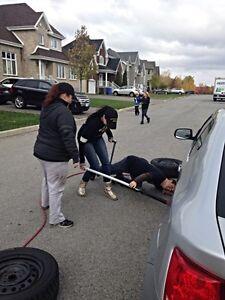 Changement pneus a domicile * Home tire changes  West Island Greater Montréal image 5