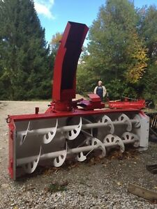 7' Double Auger Blower