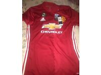 Authentic Manchester United home top