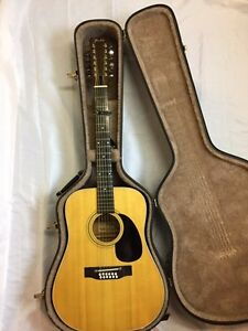 Fender F-05-12, 12 String Acoustic Guitar with Hard Shell Case
