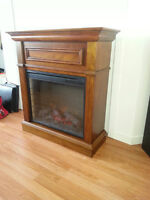 NEW DIGITAL ELECTRIC FIREPLACE - Includes Remote!