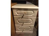 Schreiber bedside table chest of drawers