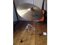 "Zyn 20"" Ride Cymbal and Yamaha Boom Stand"