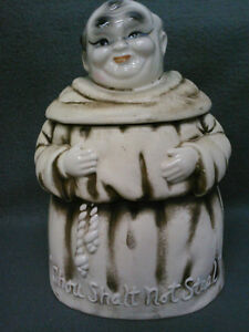Collectible Antique Friar Tuck Cookie Jar