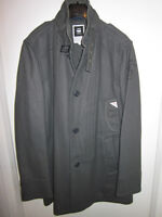 AUTHENTIC BRAND NEW MENS G-STAR GREY OVERCOAT SIZE XL