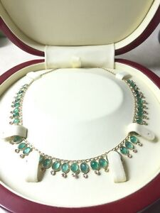 Diamond & Emerald Necklace.  Edmonton Edmonton Area image 2